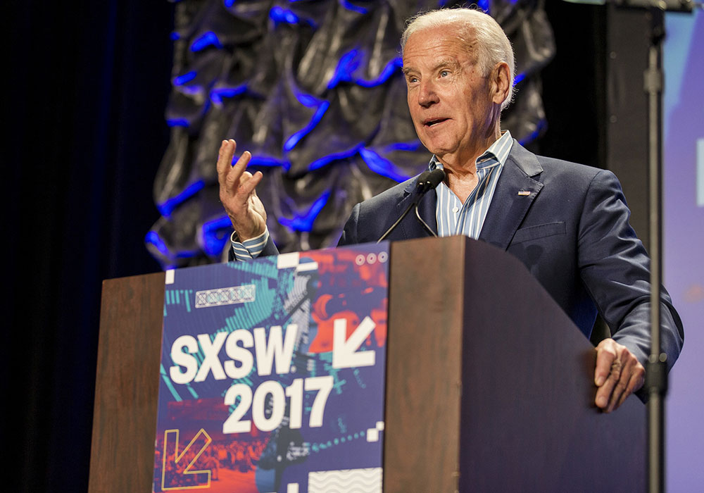 Biden speaks at South by Southwest