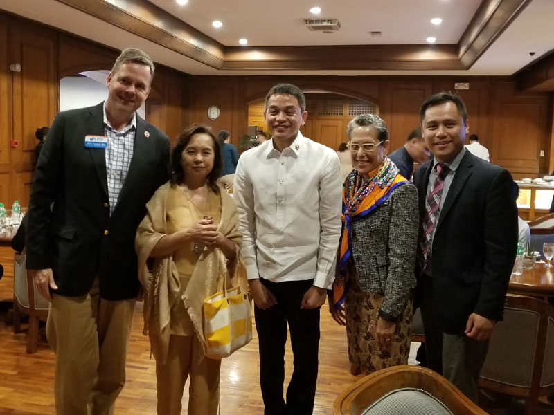 ONS travels to Philippines