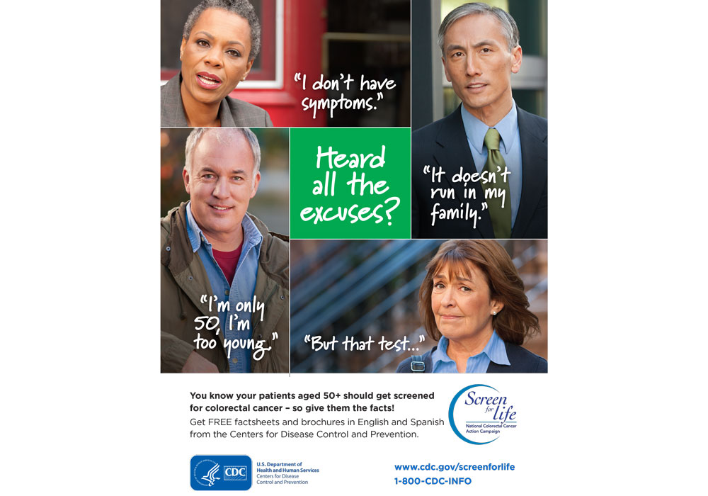 Prevent Colorectal Cancer Through Screening