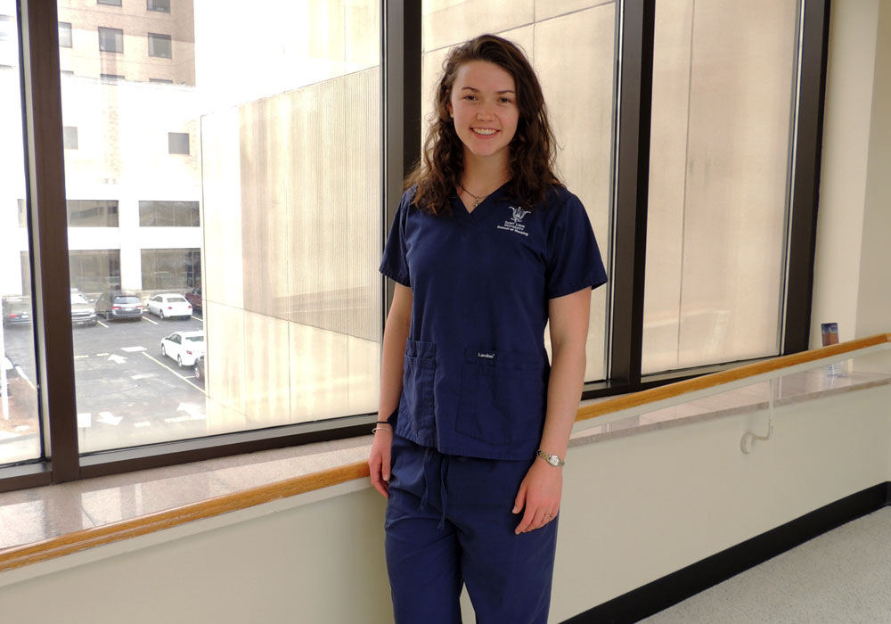 Nursing Student Embraces New Opportunities in Oncology to Grow Professionally