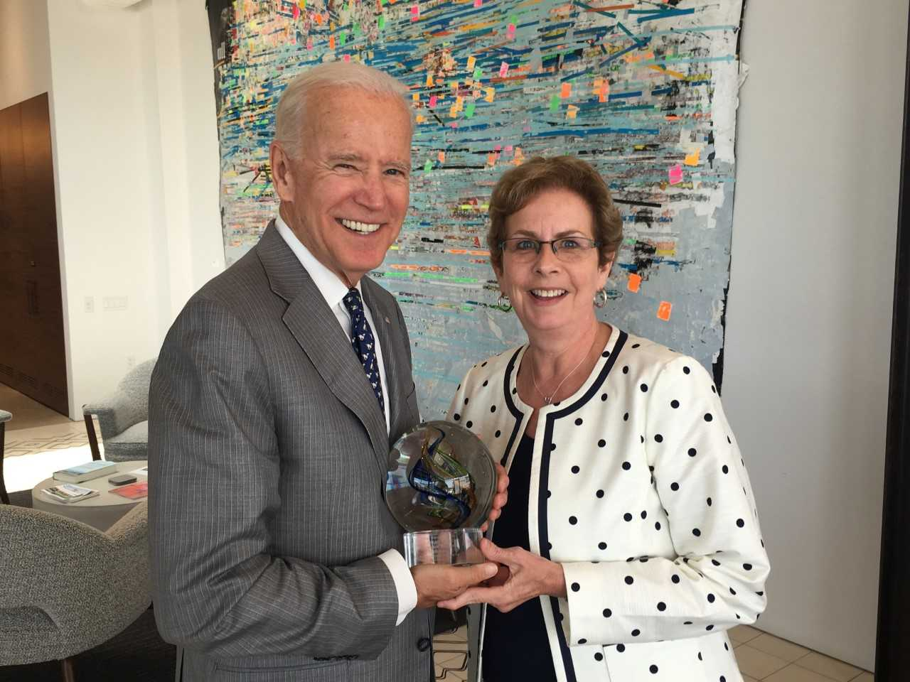 Joe Biden, Sue Schneider