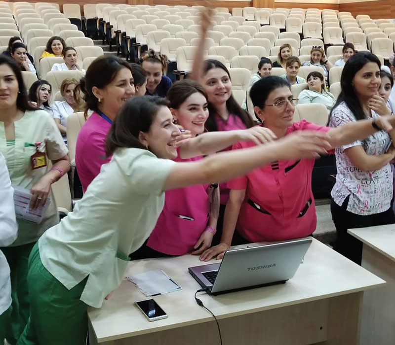 ONS Hosts Inaugural International Oncology Nursing Conference in Azerbaijan