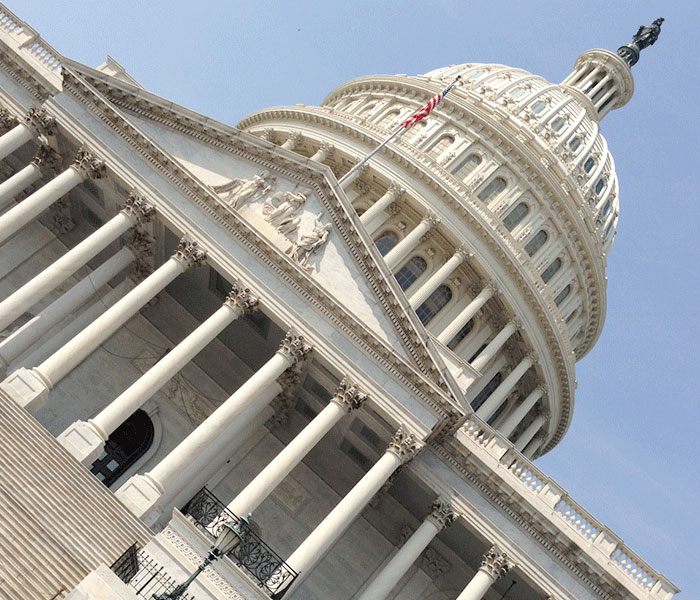 A picture of the Capitol Building
