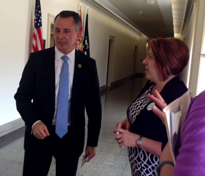 Congressman discussing Palliative Care Legislation