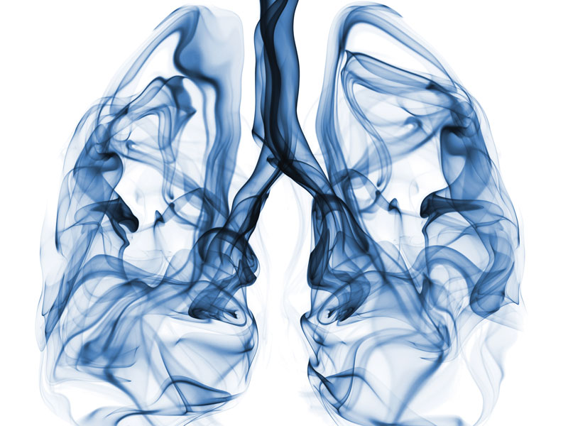 increase in incidence of lung adenocarcinoma