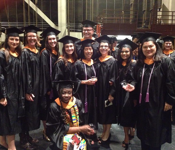 Clinical nurse specialist graduates